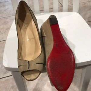 Christian Louboutini shoes size 39 1/2